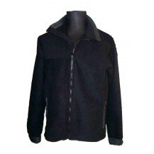 Campera polar impermeable y respirable